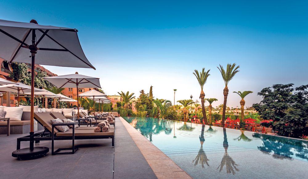 Sofitel marrakech in marrakech vip selection - Piscine sofitel marrakech ...