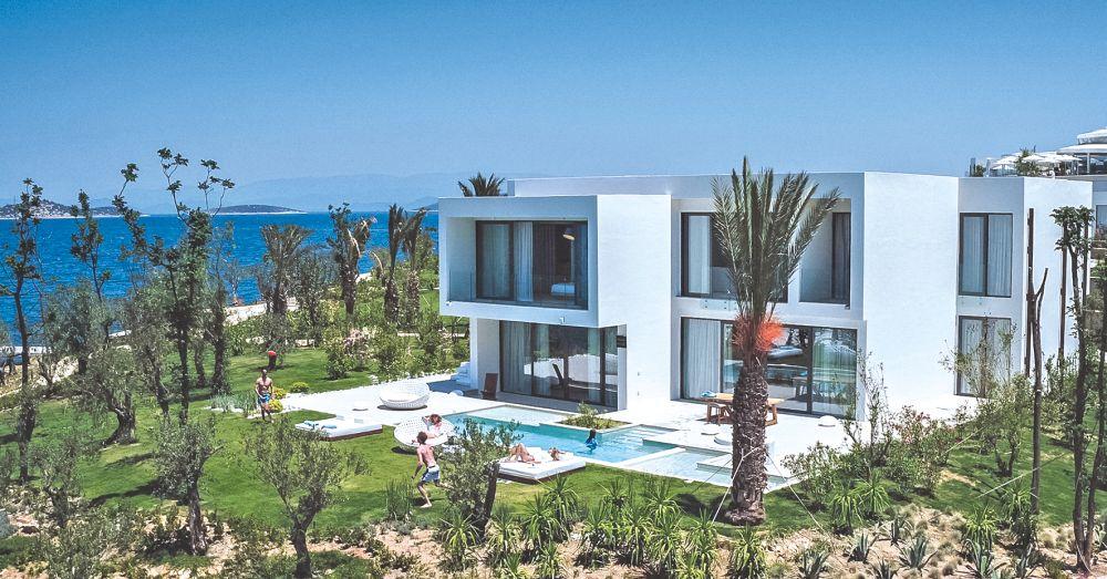 Villas De Luxe À Couper Le Souffle À Bodrum En Turquie