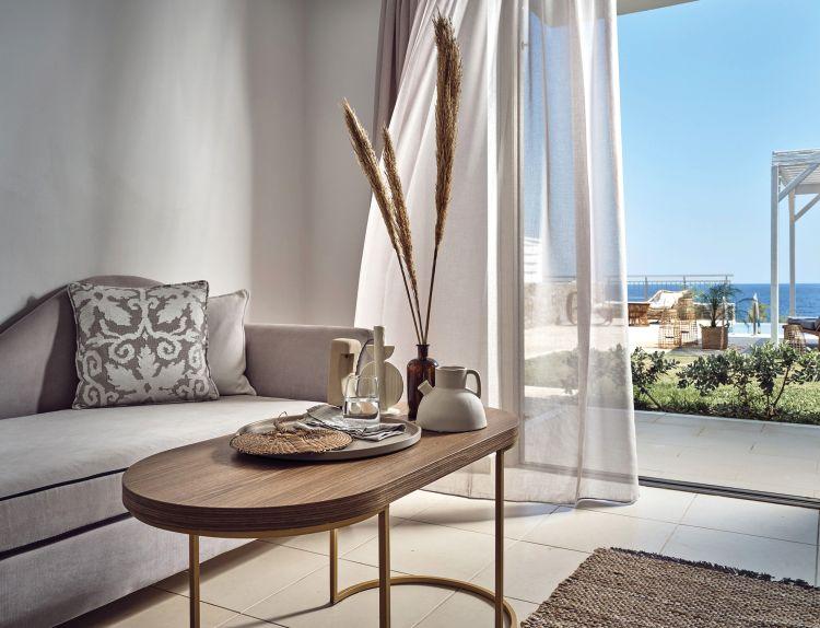 Sensimar royal blue resort spa in kreta chania vip for Designhotel kreta